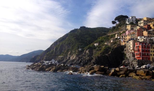 Almost to Riomaggiore